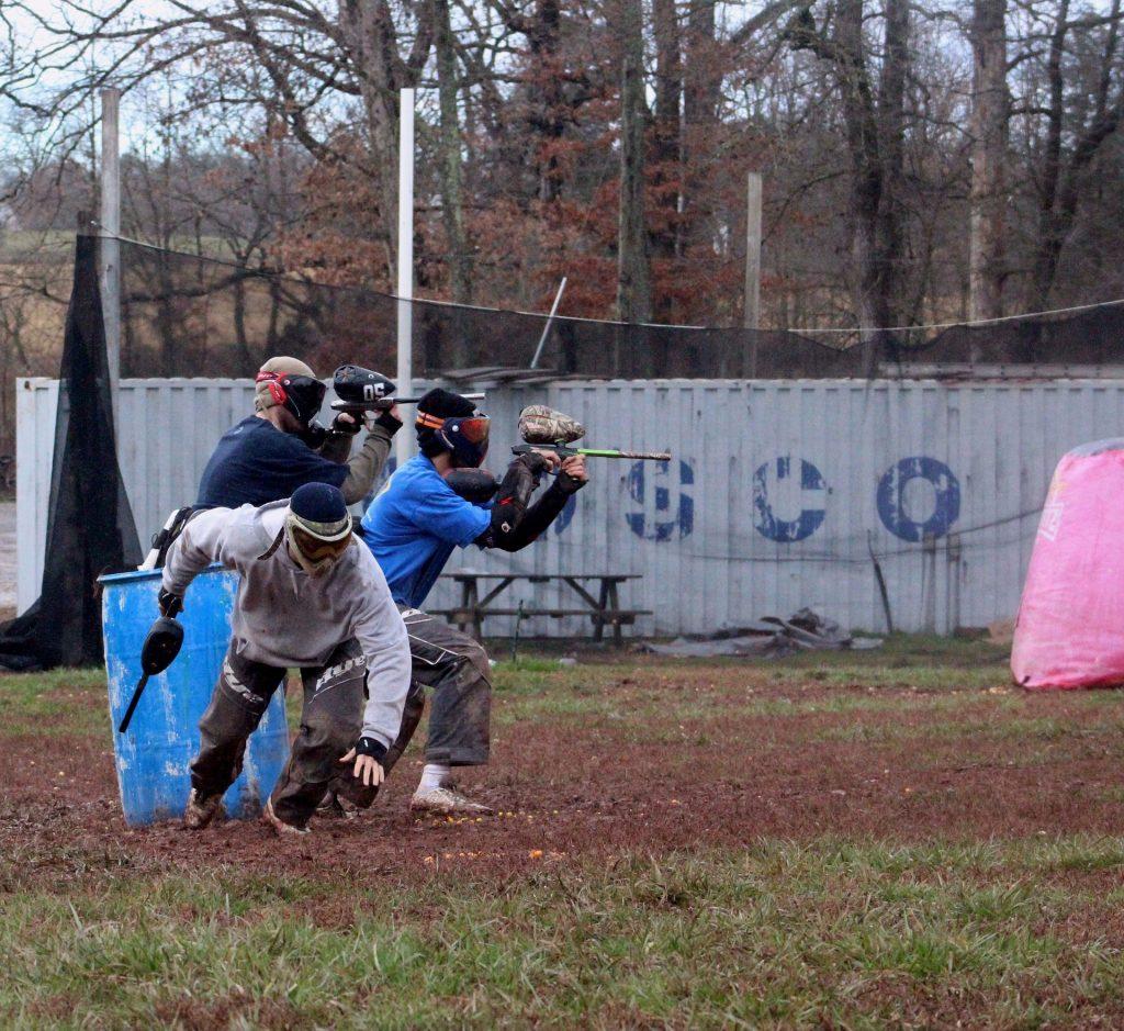 Paintball - Kriegsspiele, oder Mannschaftssport? auf netzperlentaucher.de