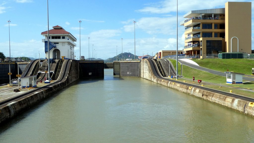 Der Panamakanal auf netzperlentaucher.de