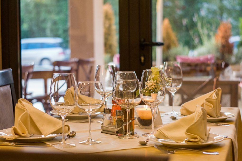 Tischdeko wenn Gäste kommen auf netzperlentaucher.de